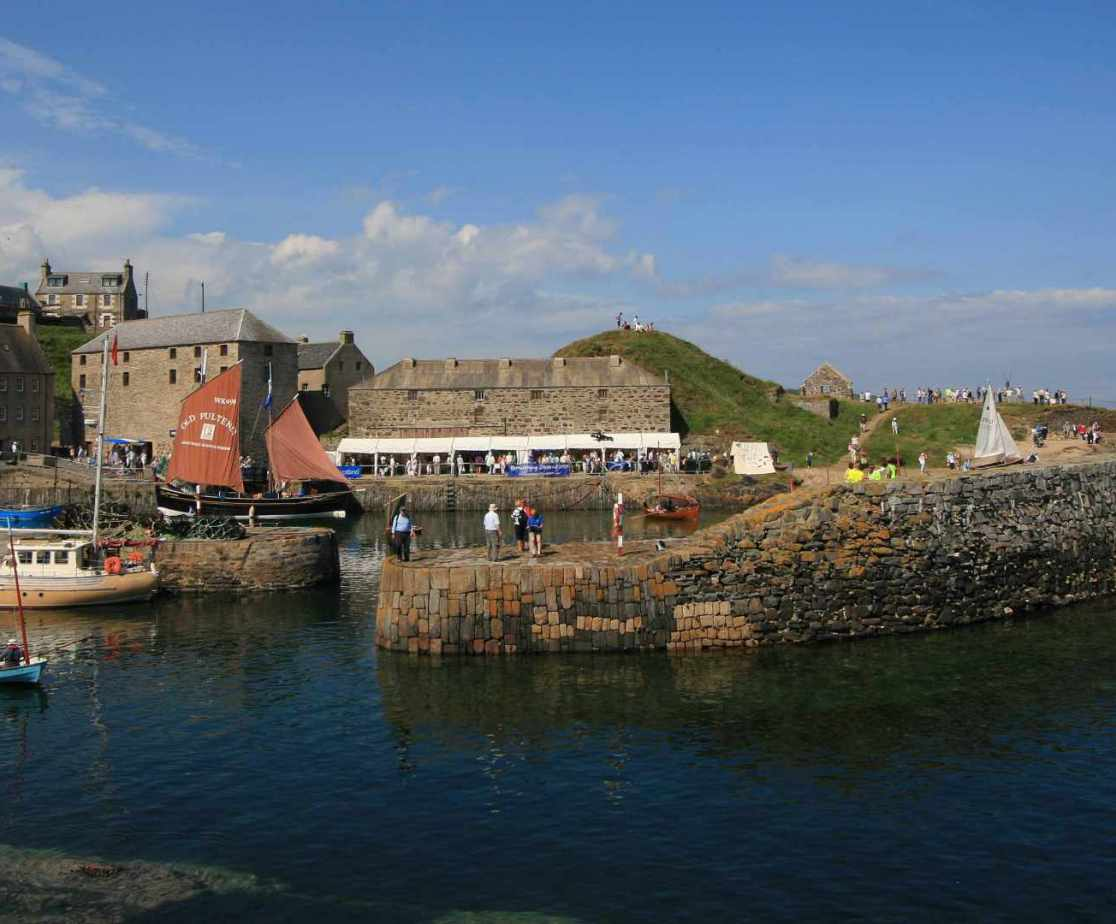 Take in the Moray Firth coastline at Portsoy