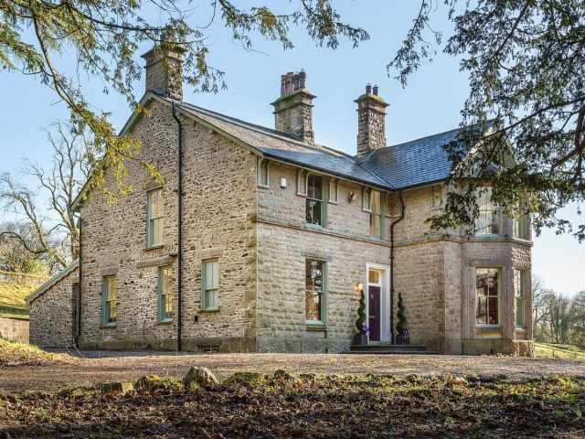 Grand detached Cumbrian country villa