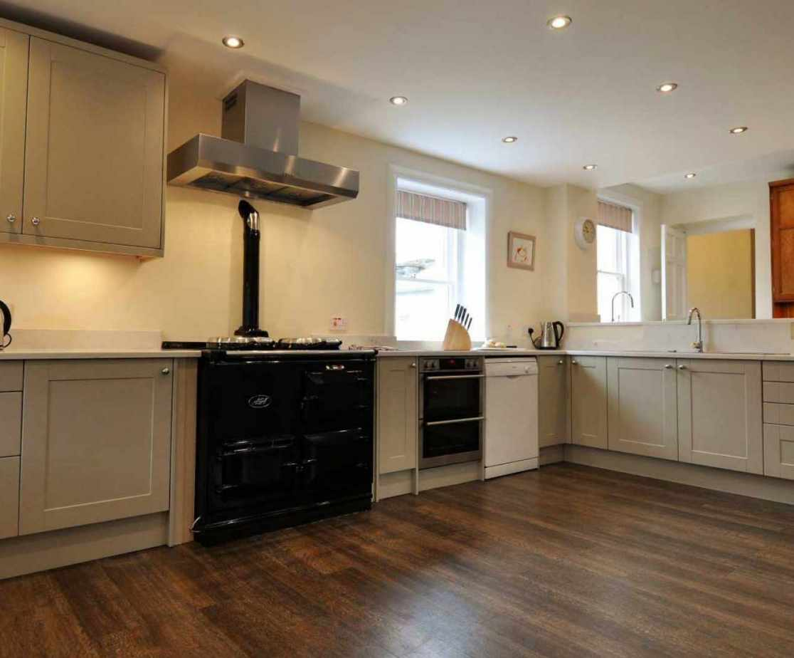 The kitchen is clearly the hub of the house and very generously proportioned.