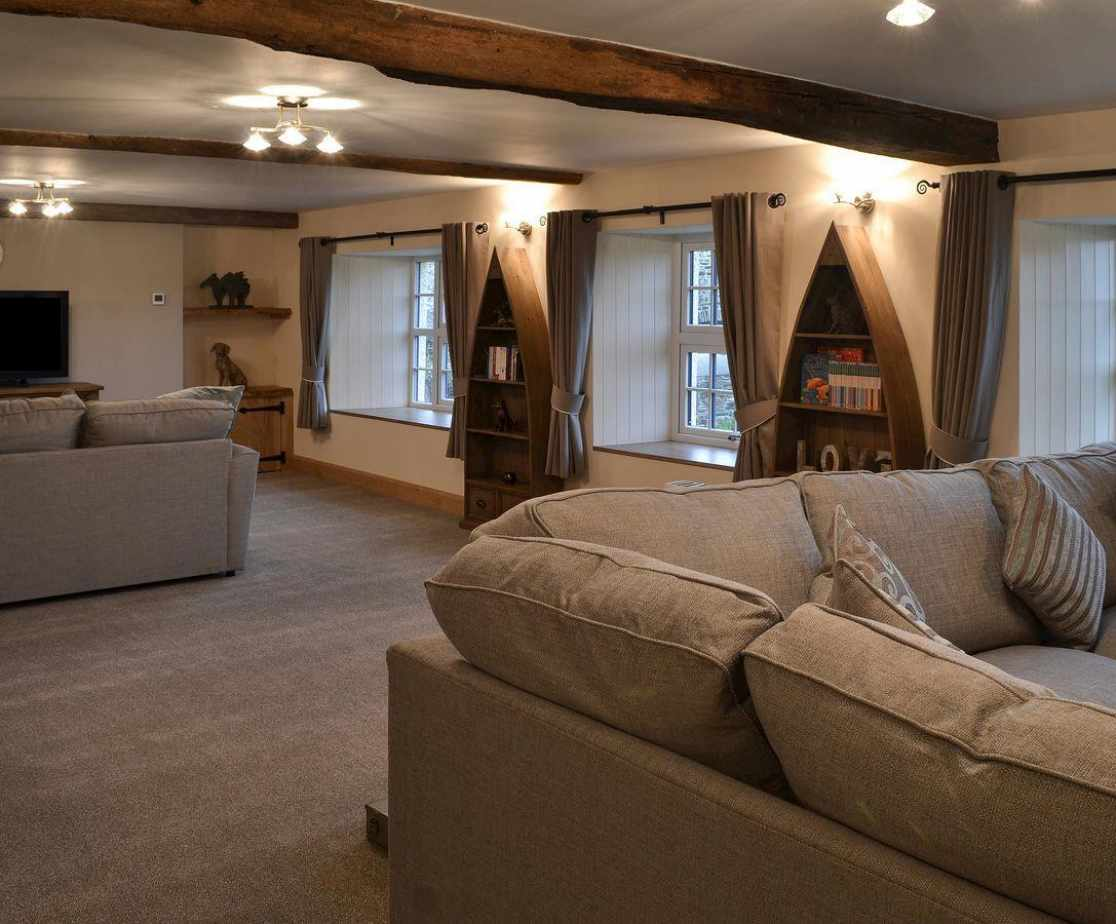 Large well furnished living space